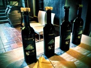 Verticale vino Cenerentola