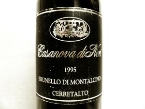 Cerretalto 1995 Casanova di Neri